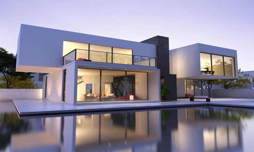 Płaski dach to znak rozpoznawczy nowoczesnej architektury.