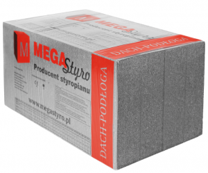 Styropian dla budownictwa - Dachy i podłogi - EPS 80-031 LAMBDA MAX DACH/PODŁOGA